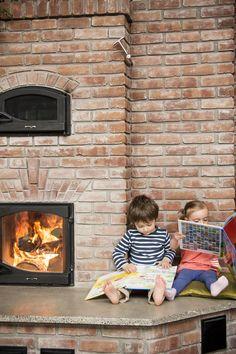 Feuvert Masonry heater Gas Stove, Stoves, Wood Burning, Fireplaces, Nest, 1, House Design, Home Decor, Fireplace Set