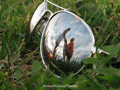 Country engagement photo, sunset, aviator sunglasses, Anna McKay Photos