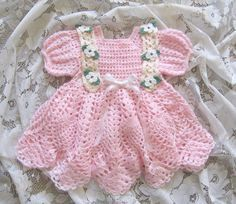 Crochet Pattern for Baby Girl ..... Baby Girl por littlebuddydolls