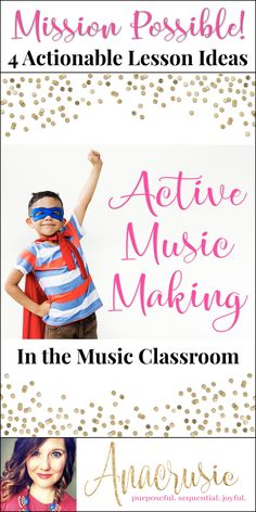 If you are looking for more ways to get past just checking concepts off your curriculum map, this blog series is for you! Each week I'll take you through a different way to purposefully and sequentially lead your students toward active music making in the elementary music classroom. You'll get great, actionable steps for music lessons with movement, instruments, and more! Lots of Freebies coming in this series!!