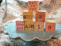 DIY  Handmade : DIY Pretty Calendar Project