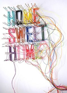 Drawing with Thread…. | Crafted by Lindy
