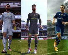 Real Madrid kits 2015/16