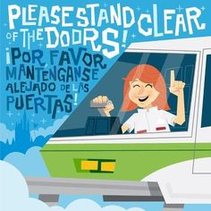 """""""Please Stand Clear of the Doors""""- Walt Disney World Monorail"""