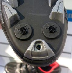 Faces in things - doggy shoe