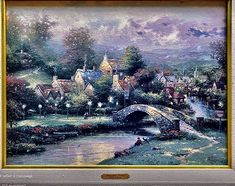 Kinkade Paintings, Art, Art Background, Kunst, Art Education