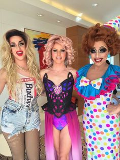 Adore's outfit is everything. RuPaul's Drag Race Season 6 Top 3: Adore Delano, Courtney Act, and Bianca Del Rio