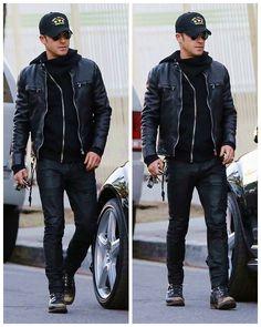 Choosing The Right Men's Leather Jackets – Revival Clothing Brown Leather Jacket Men, Classic Leather Jacket, Best Leather Jackets, Leather Jacket Outfits, Lambskin Leather Jacket, Vintage Leather Jacket, Leather Men, Rocker Style Men, Moda Formal