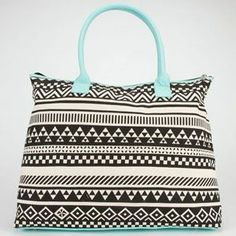 Ethnic Print Tote Bag. TILLY'S EXCLUSIVE!