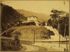 Abertura túnel da Real Grandeza, o Túnel Velho.1892