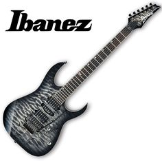 The RG is the most recognizable and distinctive guitar in the Ibanez line. Fretboard : Bound Rosewood fretboard w/Mother of Pearl off-set dot inlay. Ice Burst, Ibanez Electric Guitar, Music Lessons, Wicked, Zero, Father, Music Instruments, Black, Guitars
