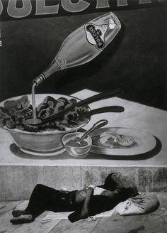 Brassaï.  Vagabond à Marseille [Tramp in Marseilles], 1935