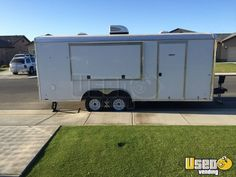 New Listing: https://www.usedvending.com/i/2015-8.5-x-20.5-Food-Concession-Trailer-for-Sale-in-California-/CA-P-908X 2015 - 8.5' x 20.5' Food Concession Trailer for Sale in California!!!