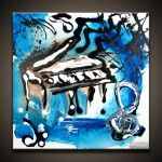 Abstract Piano Wall Art Images