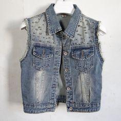 Denim chaleco mujeres abrigo Vintage Cardigan pantalones vaqueros sin mangas dan vuelta abajo solo pecho Colete mujer ropa de primavera 1512-55F(China (Mainland))