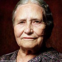 """""""That is what learning is. You suddenly understand something you've understood all your life, but in a new way.""""   ― Doris Lessing"""