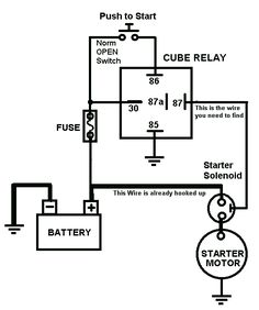 11 best auto mechanic images auto mechanic, car starter, diagramimage result for car starter relay wiring diagram car horn, car starter, maps,