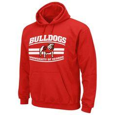 NCAA Men's Hooded Sweatshirt - University of Georgia Bulldogs