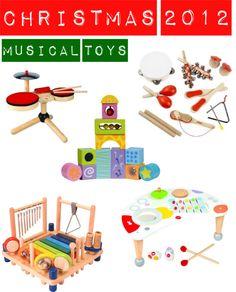 Christmas 2012: Musical Toys