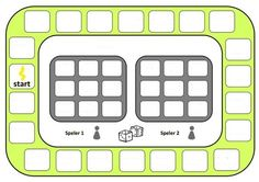 Zelf rekenbordspel maken. Stappenplan: 1. Verzin sommen tot de 100 (zoals 45 + 20 of 46 – 15). 2. De som die jullie verzinnen moet 2x op het spel komen. 3. Als je alle sommen hebt schrijf dan in het midden de antwoorden. 4. Klaar? Controleer het even snel. 5. Inleveren bij de meester. Samenwerken; doen we samen!