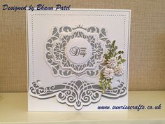 Sunrise Crafts Blog [10] - sunrisecrafts.co.uk, Filigree card