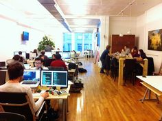 Awesome Offices: Inside 15 fantastic startup workplaces in New York - The Next Web - Contently Soho- NYC
