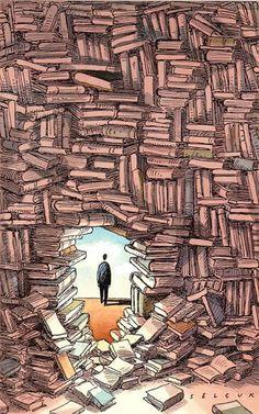 Lugares a los que solamente se llegan leyendo...