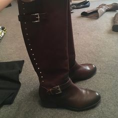 Alex Marie boots Brand new chocolate brown Alex Marie boots Alex Marie Shoes Winter & Rain Boots