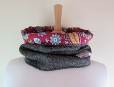Harris Tweed snood.  http://stores.ebay.co.uk/The-Little-Stitch-Co