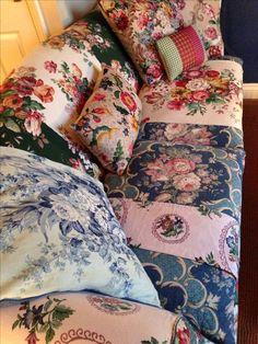 My sofa! Sarah Moore