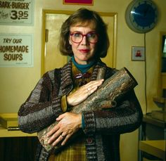 """""""My log saw something that night.""""  Rest in peace, Catherine Coulson aka The Log Lady 29 September 2015"""