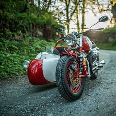 The Alpinist: A Moto Guzzi sidecar rig from Austria's NCT Motorcycles.