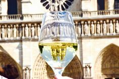 Cathédrale Notre Dame in my glass paris