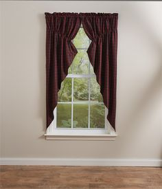 Dorset Lined Gathered Window Curtain Swag 72 x 63