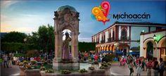 #Jiquilpan #PuebloMágico con su plaza y jacarandas hacen perfecta esta linda tarde. Te invita el Hotel El Carmen en Morelia!