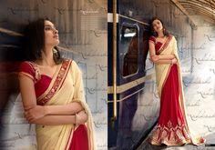 Partywear Indian Saree New Ethnic Bollywood Designer Pakistani Wedding Sari 2046…