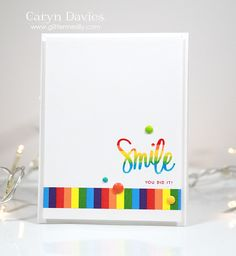 Love this card by Caryn for the Simon Says Stamp Wednesday challenge (Anything Goes)