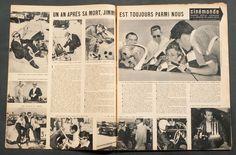 'CINEMONDE' FRENCH VINTAGE MAGAZINE JAMES DEAN COVER 27 SEPTEMBER 1956   eBay