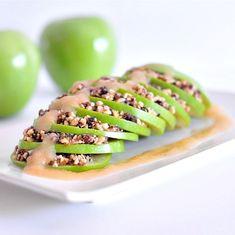 raw apple cobbler