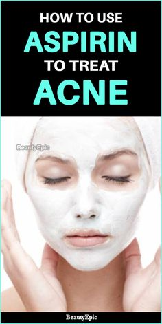 How Effective Is Aspirin for Acne? Acne could be associated to various other underlying health issues like hormonal imbalance. We have listed a few ways to use aspirin for acne. Have a look! Skin Care Remedies, Acne Remedies, Asprin For Acne, Asprin Uses, Acne Serum, Pimples Overnight, How To Get Rid Of Pimples, Acne Scar Removal, Skin Care