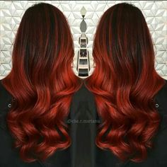 Gorgeous red color melt