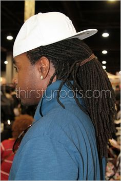 Dreadlocks White Hat One Luv +dreadstop / @DreadStop #dreadlocks