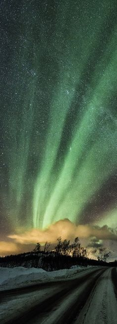 ♥ Shapes of nature,Aurora Borealis  by  Trichardsen from Pin Best Board; jewelled sky