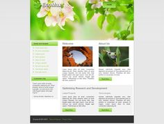 #Joomla #Template - like this template? Get a Fully Customizable CMS Site, starting at just $199.
