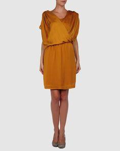 Ultimate mustard dress