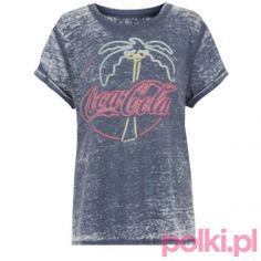T-shirt z palmą New Look