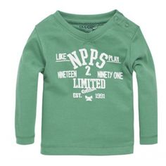 Noppies Najaar /  Winter 2014 Noppies Long Sleeve in Groen, Blauw of Grijs Maat 50 t/m 80