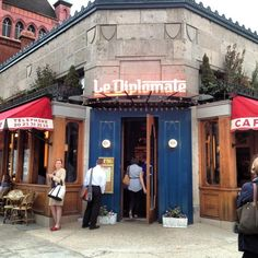 Le Diplomate - One of our favorite brunch spots!