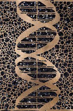 Michele Oka Doner Louise Nevelson, Organic Art, Double Helix, Life Form, Pattern Library, Aboriginal Art, Terrazzo, Textures Patterns, Installation Art