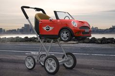 Love Mini? Love this new pram... it won't get left in the kids room though!